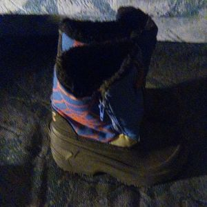 Boys SKX Spiderman Snow Boots *WORE ONCE*